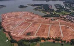 Vĩnh Phúc: Loạt doanh nghiệp san nền, đổ đất 'bức tử' hồ Đại Lải làm biệt thự