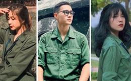 Xuất hiện ngôi trường ĐH hội tụ toàn trai xinh gái đẹp mùa quân sự, chẳng thua kém cực phẩm NEU, FTU