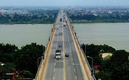 Từ sáng mai, cấm các phương tiện lưu thông trên cầu Thăng Long