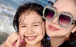 Con gái lớn của Jennifer Phạm: Mới 7 tuổi đã khiến truyền thông náo loạn vì quá xinh, lúc nào cũng được mẹ dạy cẩn thận như này