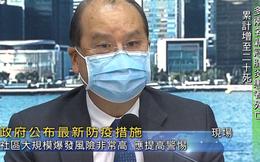 Số ca Covid-19 trong cộng đồng tại Hong Kong (Trung Quốc) liên tục lập đỉnh