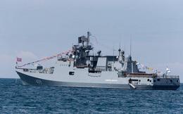 Chiến hạm Nga diễn tập phòng không tại Địa Trung Hải