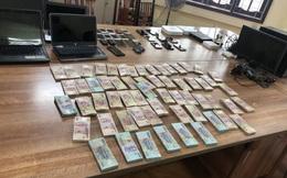 Triệt phá đường dây đánh bạc qua mạng quy mô hơn 20.000 tỷ ở Hưng Yên