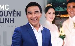 MC Quyền Linh: 'Vợ chồng ở chung giường nhưng mình toàn ngủ dưới đất, tôi cũng dạy con ngủ dưới đất, ăn cơm giản dị!'