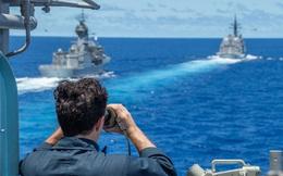 Mỹ bọc lót Nhật trước tàu Trung Quốc ở biển Hoa Đông