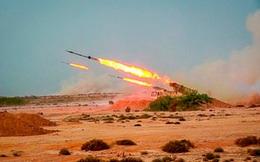 """Iran gây """"sốc"""" khi bắn tên lửa đạn đạo từ dưới lòng đất"""