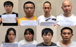 TPHCM tạm giữ và cách ly 8 đối tượng Trung Quốc nhập cảnh trái phép