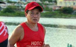 Ông Đoàn Ngọc Hải hoàn thành đường chạy Tiền Phong Marathon