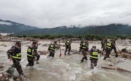 Chùm ảnh: Lũ lụt nghiêm trọng tại Trung Quốc, hơn 12 triệu người bị ảnh hưởng