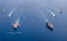 Mỹ phô diễn sức mạnh quân sự ở biển Đông, Trung Quốc nói: 'Chỉ là hổ giấy'