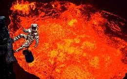 Điều gì sẽ xảy ra nếu chúng ta đổ tất cả rác vào miệng núi lửa nóng đến 1200 độ C?