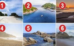 Dạng bãi biển bạn chọn đi nghỉ hè sẽ cho thấy nhiều điều thú vị về bản thân