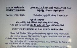 Cách chức, khiển trách 4 cán bộ công chức ở Điện Biên vì đánh bạc