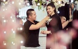 Trương Quỳnh Anh làm người mẫu cho show diễn của NTK Minh Châu