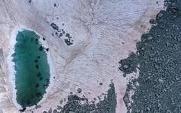 Lý giải hiện tượng 'tuyết hồng' trên dãy Alps