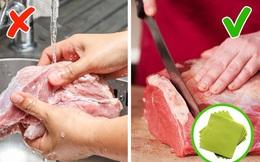 Đừng rửa những loại thực phẩm này trước khi nấu nếu không muốn rước thêm vi khuẩn và bệnh vào người các mẹ ơi!