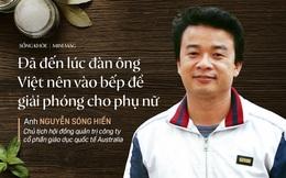 NCS TS Việt tại Úc đi làm bếp trưởng: Tôi không trông mong gì có thể thay đổi thói quen ăn uống của người Việt