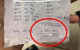 Thường xuyên đi làm muộn phải đóng ngược tiền cho quán, cô gái ức chế khi nhận bảng lương cuối tháng