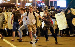 Belarus: Nhân vật đối lập không công nhận kết quả bầu cử, biểu tình nổ ra ở Minsk