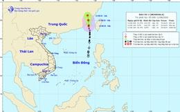 Thời tiết ngày 11/8: Bão số 3 vào Trung Quốc, nhiều vùng biển động rất mạnh