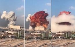 Vụ nổ Lebanon: Nhìn khói cam bốc lên, chuyên gia chất nổ nghi ngờ