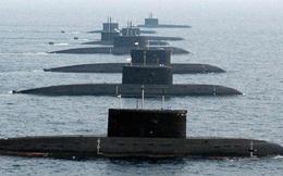 """Lầu Năm Góc """"phát hoảng"""" khi tàu sân bay Eisenhower mất dấu tàu ngầm Nga"""