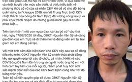 """CLB Nam Định gây sốc khi kêu gọi quyên góp cho kẻ bắn pháo gây thương tích bị phạt tù, CĐV cạn lời: """"Không đá bóng nên diễn hài à"""""""