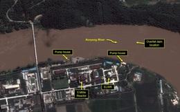 Ảnh vệ tinh: Lũ lụt nghiêm trọng đe dọa cơ sở hạt nhân Triều Tiên