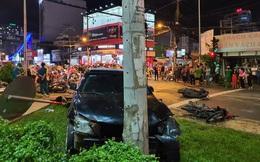 Nữ tài xế xe Camry tông hàng loạt xe máy ở Bình Thạnh khai do hoảng loạn nên đạp nhầm chân ga