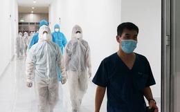 Những hình ảnh về Bệnh viện Dã chiến Tiên Sơn ở Đà Nẵng sắp đưa vào sử dụng