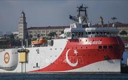 Tàu chiến Hy Lạp và Thổ Nhĩ Kỳ va chạmtrên Địa Trung Hải