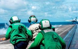 Tàu sân bay Mỹ Ronald Reagan quay lại tập trận ở biển Đông