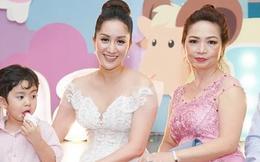Cuộc sống làm dâu tốt đẹp của Khánh Thi: Mẹ chồng đại gia tự nhiên tặng hàng hiệu