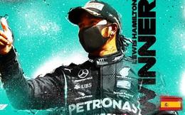 F1: Lewis Hamilton về nhất tại GP Tây Ban Nha
