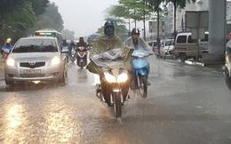 Dự báo thời tiết 17/8: Bắc bộ có mưa to, khả năng xảy ra lốc