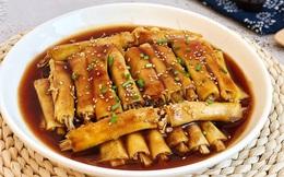 Bữa tối muốn thanh nhẹ mà đủ chất thì làm ngay món váng đậu cuộn nấm cực ngon này thôi!