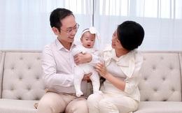 Chồng MC Phí Linh: Sau khi xem chương trình trên tivi, tôi đã mơ về việc cưới cô ấy