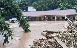Điện Biên xảy ra lũ quét lớn, gây nhiều thiệt hại