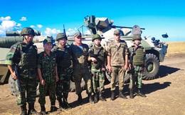 QĐ Việt Nam làm quen với thiết giáp BTR-82A và lần đầu dùng súng AK-12 mới nhất của Nga