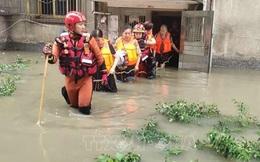 Tỉnh Tứ Xuyên ở Trung Quốc nâng mức ứng phó lũ khẩn cấp