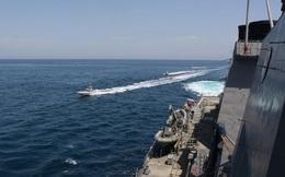 Vì sao hải quân Mỹ bắt giữ tàu thương mại trên vùng biển quốc tế?