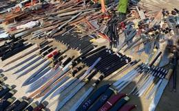 Bình Dương: Nung tan chảy gần 1.000 thanh kiếm, mã tấu