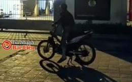 Xử phạt nam thanh niên đậu xe trước phòng CSGT nẹt bô, rú ga inh ỏi