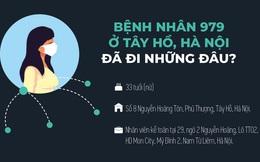 Nữ bệnh nhân mắc COVID-19 ở Tây Hồ, Hà Nội đã đi những đâu?