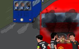Biếm họa 24h: MU ngậm ngùi nhìn Lukaku đưa Inter vào chung kết Europa League