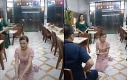 Cô gái quỳ trong quán nhắng nướng Hiền Thiện