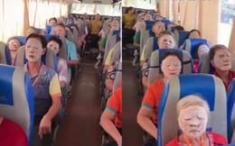 """Thú vị cảnh tượng hướng dẫn viên du lịch """"xin một chút bình yên"""" trên xe chỉ bằng thứ chị em dành để chăm sóc da mỗi ngày"""