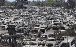 24h qua ảnh: Hàng loạt ô tô bị cháy rừng thiêu rụi ở Mỹ