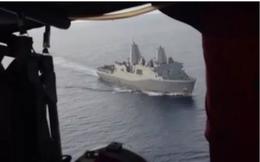 Máy bay trinh sát Mỹ thách thức tàu Trung Quốc ở biển Đông