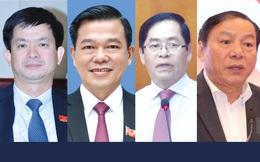 Chân dung 4 Ủy viên Trung ương được Bộ Chính trị điều động, bổ nhiệm